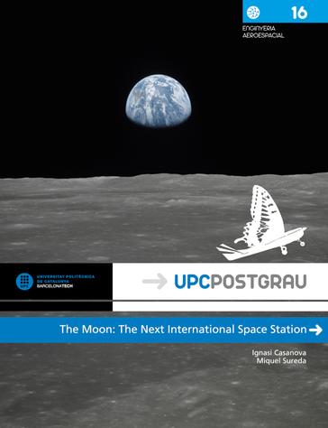 El libro 'The Moon : the next international space station'  galardonado por la UPC